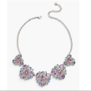 Talbots Pastel Jeweled Statement Necklace